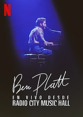 Ben Platt en vivo desde Radio City Music Hall